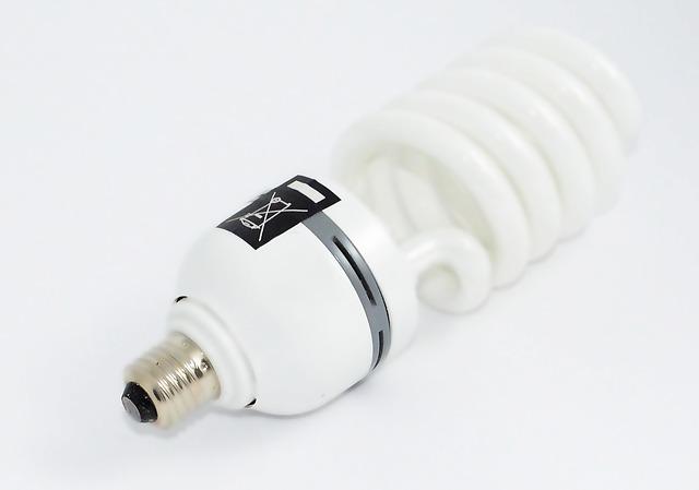 Znaczenie świetlówek energooszczędnych