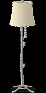 Oryginalne, podłogowe lampy